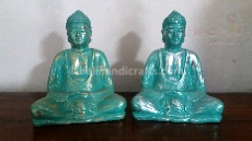 "Buddha ""Abstract"" Sculpture mini resin"
